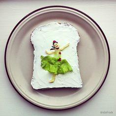 Jag vill ha blommig (falu)korv till lunch!