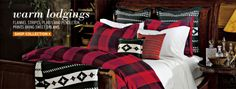 Buffalo plaid bedding by Eddie Bauer - Lodge Collection