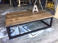 Rustic Home Decor | Ana White | DIY | Shanty 2 Chic | Rustic | Shabby Chic | Coffee Table | Living Room | Reclaimed Wood | Salvaged Wood | Living Room Ideas | End Tables | Industrial Decor