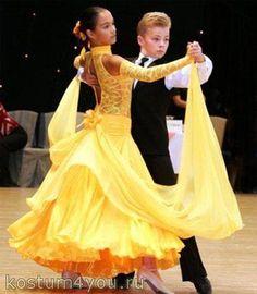Купить платье для бального танца