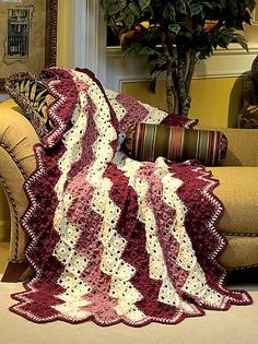 Sophisticated Zigzag Crochet Pattern by maria.t.rogers
