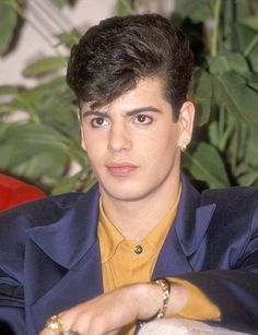 Musician Jordan Knight attends The United Cerebral Palsy Telethon on January 20 1990 at Ed Sullivan Theatre in New York City New York Pictures Of Jordans, Joey Mcintyre, Kennedy Jr, Jordan Knight, The Right Stuff, New Kids, My Man, Celebrity Crush, Cute Boys