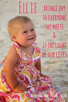 International Down Syndrome Coalition- IDSC: Meet Ellie!
