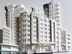 Christina Lihan's Amazing Paper Sculptures of Architectural Wonders