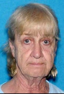 """Missing Woman: Kay Wood --IA-- 07/30/2011; Age At Time of Disappearance: 72   Weight: 128 lbs.   Height: 5'02""""   Race: White    Hair: Grey    Eyes: Blue      If you have information regarding the disappearance of this individual, please contact: the Missing Person Information Clearinghouse Iowa Division of Criminal Investigation 1-800-346-5507."""