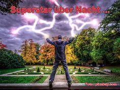 Superstar über Nacht …