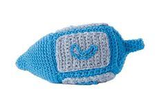 Dreidel Plushie - Crochet Me