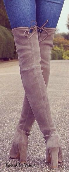 Street fashion - Fall chic: Fall 2014 Highland ♥✤ Stuart Weitzman