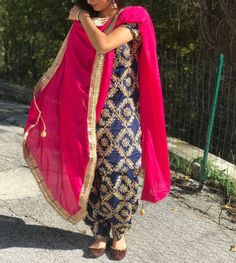 """7,104 Likes, 99 Comments - New Trendz Creations ,Patiala (@punjabisuit) on Instagram: """"To Place ur orders on whatsapp +918400060006 We ship worldwide✈"""""""