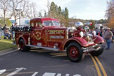 MORE HOSE!!!!!!#Repin By:Pinterest++ for iPad# Big Rig Trucks, Old Trucks, Fire Trucks, Fire Dept, Fire Department, Ambulance, Chariots Of Fire, Train Truck, Rescue Vehicles
