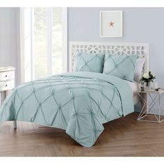 Shop for VCNY Home Floral Burst 3 Piece Technique Quilt Set. Get free shipping at Overstock.com - Your Online Fashion Bedding Outlet Store! Get 5% in rewards with Club O!