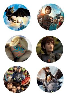 Folie du Jour Bottle Cap Images: Free how to train your Dragon part 2 digital bottle cap images - many images and subjects