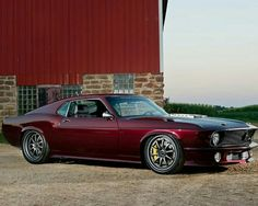 '70 Roush Mustang 'The Dragon' by the #RingBrothers
