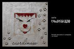 """Per la tua casa.. il mastrocartaio realizza fantastici complementi d'arredo realizzati a mano con la cartapesta! Per la serie """" FantasticoZoo """".. Cuordinaso www.mastrocartaio.com"""