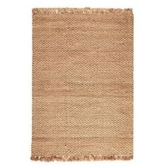 Home Decorators Collection Braided Jute Natural 12 ft. x 15 ft. Area Rug...LOVE me some fringe!