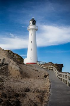 Castle Point Lighthouse, Wellington, North New Zealand