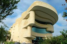 Smithsonian Native American Museum.  I've been here many times but my favorite was when I gave my brother his first tour.