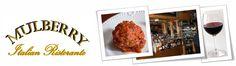 Mulberry Italian Ristorante.  Lakawana, NY.  Meatballs & Lasagna!