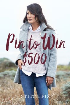 Win the ultimate fall wardrobe! Pin your fave seasonal looks for a chance to win $500 in Stitch Fix credit.