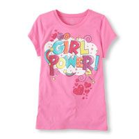 Girls Clothing   Girls Tops and Girls Shirts   Graphic Tees   The Children's Place