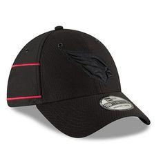 Men s Arizona Cardinals New Era Black 2018 NFL Sideline Color Rush Official 39THIRTY  Flex Hat   699425cd3e55