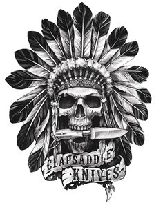 Clapsaddle knives on Behance Skull Tattoo Flowers, Skull Rose Tattoos, Body Art Tattoos, Tattoo Drawings, Sleeve Tattoos, Key Tattoos, Butterfly Tattoos, Foot Tattoos, Flower Tattoos