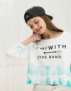 BSK text and pins jumper. Discover this and many more items in Bershka with new products every week