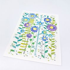Wild And Beautiful Aceo Print £3.00