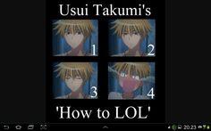 Usui takumi is a new lol