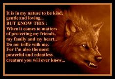 Wolf Quotes About Love | Two Sides Of The Wolf... | Life Quotes and Meaningful Sayin's