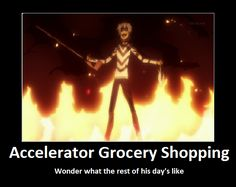 Accelerator Grocery Shoping by 01Accelerator10.deviantart.com on @DeviantArt