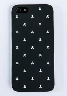 (7) Fancy - Johnny Cupcakes / Crossbones Pattern iPhone Case 4/4S/5