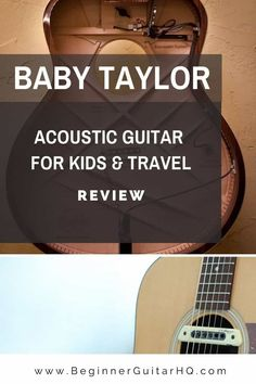 Taylor is a highly-revered acoustic and acoustic-electric guitar maker. Their offerings are premium, expensive, and professional. The Baby Taylor, though, doesn't belong on the brand's higher-shelves. Instead, as the name suggests, this is a guitar suited for kids and home practice. Guitar Reviews, Best Acoustic Guitar, Taylor Guitars, Baby Taylor, Kids Suits, Guitar For Beginners, Body Shapes, Electric, Shelves
