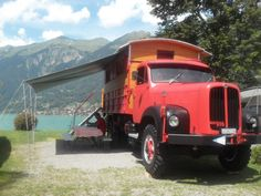 4x4, Camper, Vans, Trucks, Vehicles, Bern, Van Camping, Caravan, Van