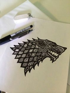 Awesome Stark crest design