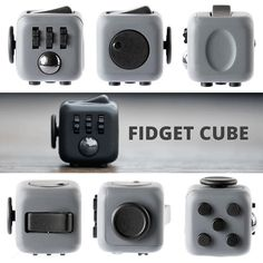 Fidget Cube Kickstarter by Matthew and Mark McLachlan. You can click, spin…