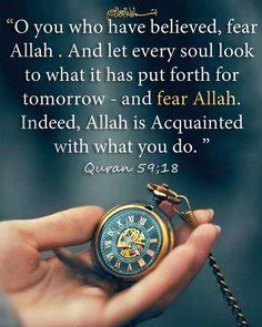 Quran 59:18