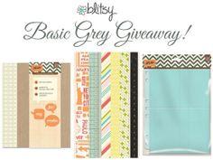 Blitsy Basic Grey Giveaway!!!