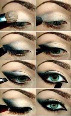 Sexy cat eye tutorial