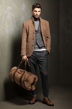 Brunello Cucinelli - Fall 2017 Menswear  [mens fashion] #fashion // #men // #mensfashion