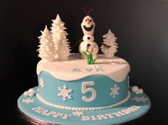 olaf cake - Google Search