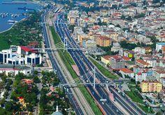 İstanbul'a Komşu ve İstanbul'la Bütünleşik Bir Kent: Kocaeli Visit Turkey, The Province, Antalya, Paris Skyline, Istanbul, City Photo, Adventure, Places, Travel Europe