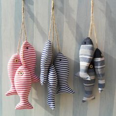 Zakka fabric stripe small fish fishing net decoration podjarka wall props US $63.14