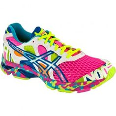 ASICS GEL-Noosa Tri™ 7 Lady Pink/Coral/Noosa Glow -- are these shoes ME or what?