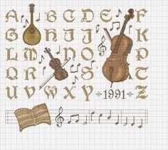 Musical Alphabets #1/1 ........... Gallery.ru / Фото #8 - А..Б..В.. - COBECTb