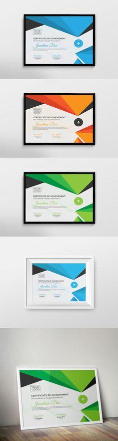 206 Best Certificate Design Images On Pinterest Certificate Design