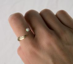 Gold Opal Ring, I love this so much!!