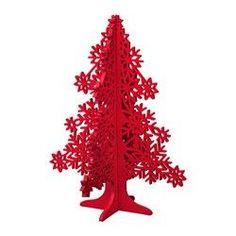 VINTER 2017, Décoration, arbre, rouge