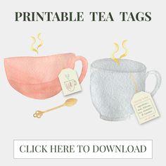 Starry Night Tea Blend Recipe & Printable Tea Tags >> Eight Pepperberries Recipe Printable, Tea Tag, Homemade Tea, Printable Activities For Kids, Good Morning Coffee, Tea Blends, Tea Recipes, Hibiscus, Drinking