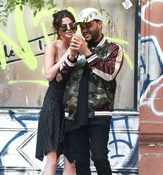 Selena Gomez got cozy with The Weeknd in Buenos Aires wearing the cutest @isabelmarant sundress and a laid back messy bun   via ELLE USA MAGAZINE OFFICIAL INSTAGRAM - Fashion Campaigns  Haute Couture  Advertising  Editorial Photography  Magazine Cover Designs  Supermodels  Runway Models